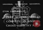 Image of Annual Cross Country Race Eton England United Kingdom, 1933, second 12 stock footage video 65675072246