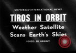 Image of TIROS weather satellite Cape Canaveral Florida USA, 1960, second 1 stock footage video 65675072253