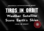 Image of TIROS weather satellite Cape Canaveral Florida USA, 1960, second 2 stock footage video 65675072253