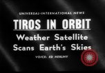 Image of TIROS weather satellite Cape Canaveral Florida USA, 1960, second 4 stock footage video 65675072253