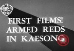 Image of Communist Chinese troops Kaesong Korea, 1951, second 1 stock footage video 65675072263