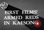 Image of Communist Chinese troops Kaesong Korea, 1951, second 2 stock footage video 65675072263