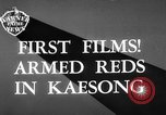 Image of Communist Chinese troops Kaesong Korea, 1951, second 4 stock footage video 65675072263