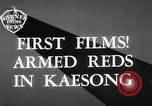 Image of Communist Chinese troops Kaesong Korea, 1951, second 6 stock footage video 65675072263