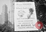 Image of movie tax protest New York City USA, 1961, second 4 stock footage video 65675072265