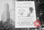 Image of movie tax protest New York City USA, 1961, second 5 stock footage video 65675072265