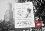 Image of movie tax protest New York City USA, 1961, second 7 stock footage video 65675072265