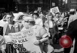 Image of movie tax protest New York City USA, 1961, second 11 stock footage video 65675072265