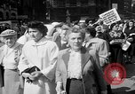 Image of movie tax protest New York City USA, 1961, second 14 stock footage video 65675072265