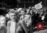 Image of movie tax protest New York City USA, 1961, second 15 stock footage video 65675072265