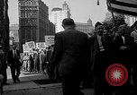 Image of movie tax protest New York City USA, 1961, second 27 stock footage video 65675072265