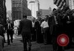Image of movie tax protest New York City USA, 1961, second 28 stock footage video 65675072265