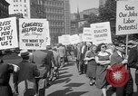 Image of movie tax protest New York City USA, 1961, second 29 stock footage video 65675072265