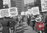 Image of movie tax protest New York City USA, 1961, second 30 stock footage video 65675072265