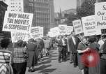 Image of movie tax protest New York City USA, 1961, second 33 stock footage video 65675072265