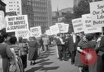 Image of movie tax protest New York City USA, 1961, second 34 stock footage video 65675072265