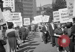 Image of movie tax protest New York City USA, 1961, second 35 stock footage video 65675072265