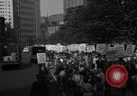 Image of movie tax protest New York City USA, 1961, second 39 stock footage video 65675072265