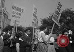 Image of movie tax protest New York City USA, 1961, second 49 stock footage video 65675072265
