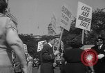 Image of movie tax protest New York City USA, 1961, second 52 stock footage video 65675072265