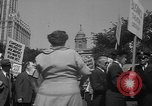 Image of movie tax protest New York City USA, 1961, second 53 stock footage video 65675072265