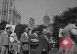 Image of movie tax protest New York City USA, 1961, second 55 stock footage video 65675072265