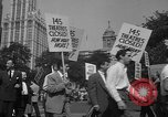 Image of movie tax protest New York City USA, 1961, second 59 stock footage video 65675072265