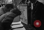 Image of movie tax protest New York City USA, 1954, second 14 stock footage video 65675072267