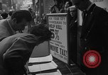 Image of movie tax protest New York City USA, 1954, second 15 stock footage video 65675072267