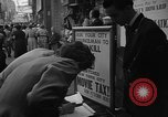 Image of movie tax protest New York City USA, 1954, second 21 stock footage video 65675072267