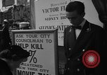 Image of movie tax protest New York City USA, 1954, second 29 stock footage video 65675072267