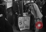 Image of movie tax protest New York City USA, 1954, second 33 stock footage video 65675072267
