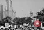 Image of movie tax protest in New York New York City USA, 1961, second 4 stock footage video 65675072269