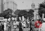 Image of movie tax protest in New York New York City USA, 1961, second 10 stock footage video 65675072269
