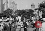 Image of movie tax protest in New York New York City USA, 1961, second 11 stock footage video 65675072269