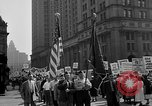 Image of movie tax protest in New York New York City USA, 1961, second 12 stock footage video 65675072269