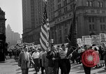 Image of movie tax protest in New York New York City USA, 1961, second 13 stock footage video 65675072269