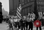 Image of movie tax protest in New York New York City USA, 1961, second 14 stock footage video 65675072269