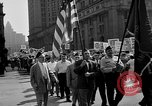 Image of movie tax protest in New York New York City USA, 1961, second 15 stock footage video 65675072269
