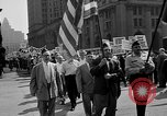 Image of movie tax protest in New York New York City USA, 1961, second 16 stock footage video 65675072269