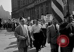 Image of movie tax protest in New York New York City USA, 1961, second 18 stock footage video 65675072269