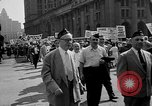 Image of movie tax protest in New York New York City USA, 1961, second 19 stock footage video 65675072269