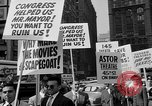 Image of movie tax protest in New York New York City USA, 1961, second 30 stock footage video 65675072269