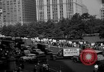 Image of movie tax protest in New York New York City USA, 1961, second 35 stock footage video 65675072269