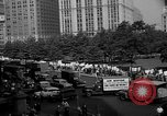 Image of movie tax protest in New York New York City USA, 1961, second 36 stock footage video 65675072269