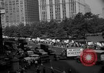 Image of movie tax protest in New York New York City USA, 1961, second 39 stock footage video 65675072269