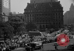 Image of movie tax protest in New York New York City USA, 1961, second 40 stock footage video 65675072269