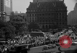 Image of movie tax protest in New York New York City USA, 1961, second 42 stock footage video 65675072269