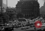 Image of movie tax protest in New York New York City USA, 1961, second 43 stock footage video 65675072269