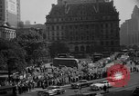 Image of movie tax protest in New York New York City USA, 1961, second 45 stock footage video 65675072269